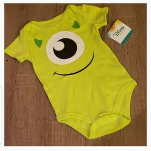 **5 for $15** Monster's Inc Disney Onesie